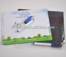 promotional gifts pvc magnet writing board with company logo