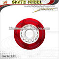 inline skate pu wheel 72mm, pu inline skate wheel