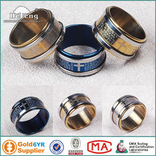 Stainless Steel Ring For Men/ Finger Rosary Ring