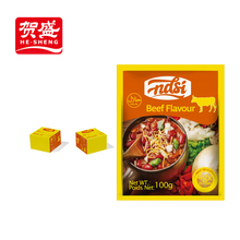 NASI 4g/cube ginger powder halal beef stock cube for dish