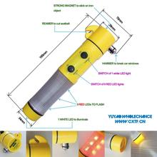 AA battery Lens High focusing White Beam LED flashlight