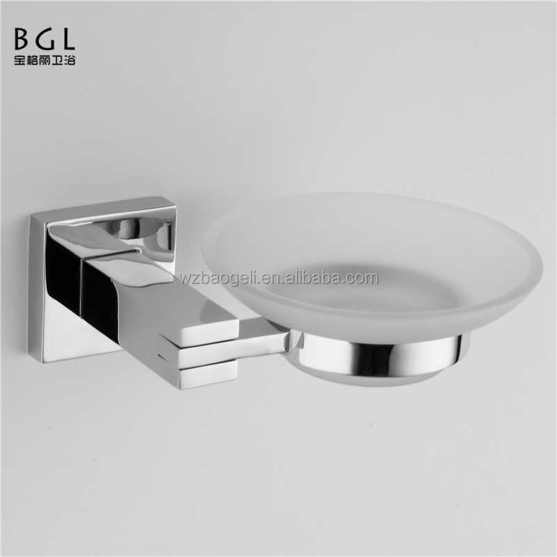 2016 news hotel use bathroom sanitary items zinc alloy soap dish