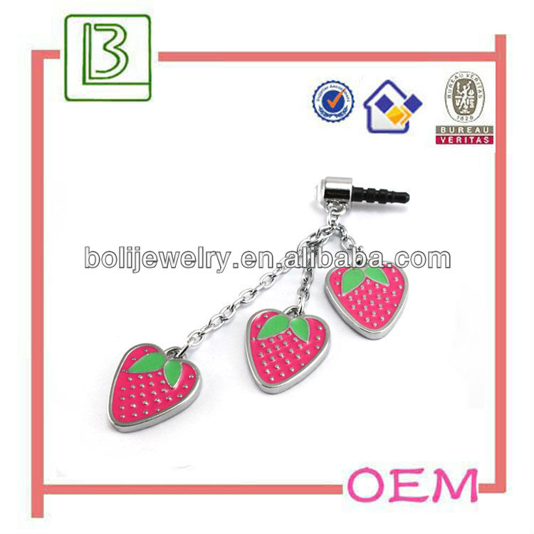 Fresh Strawberry Dust-Proof Plug