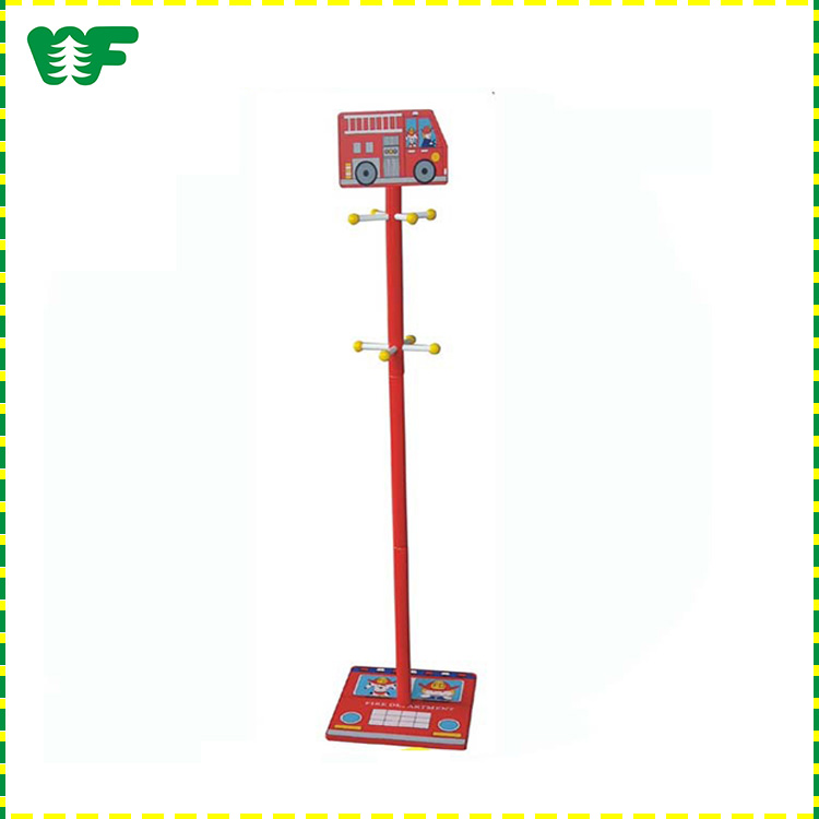 New kids educational toys wooden christmas gift high quality wood hat and coat stand