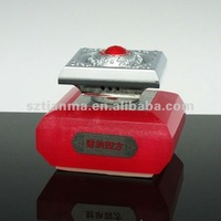 Lucky red perfume bottle for car air freshener