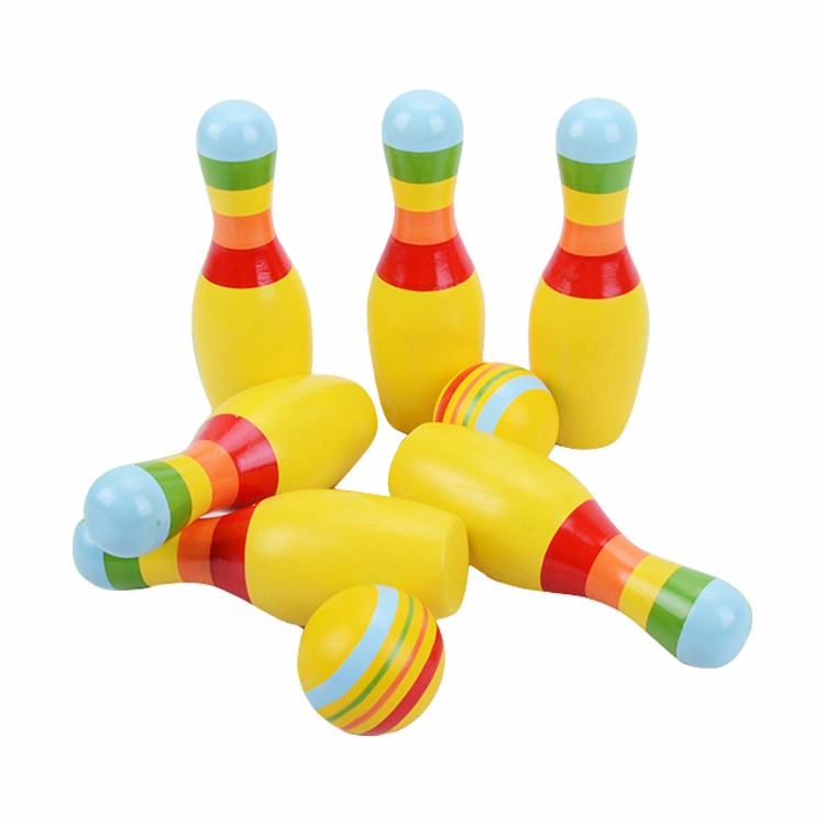 Baby toddler bowling toy children's educational color bowling set