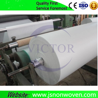 polyester fiber non-woven fabric for electrical insulating flexible composite material 6630 DMD