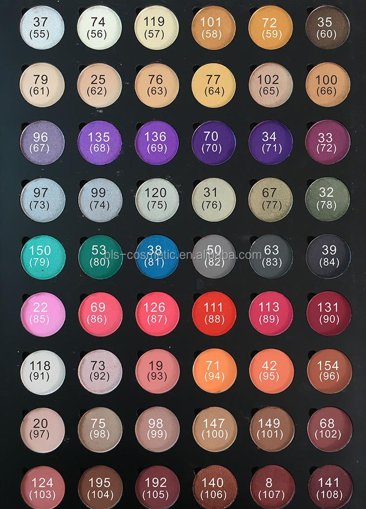 Single Eye Shadow Make Up Magnetic Eyeshadow Pans Eye Shadow Refill Pans for Pro Palette OEM 26mm,29mm,36mm