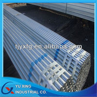 Greenhouse construction galvanized hollow section