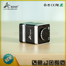 Adin 26w cube NFC vibration music mini bluetooth speaker with Mic Aux in out
