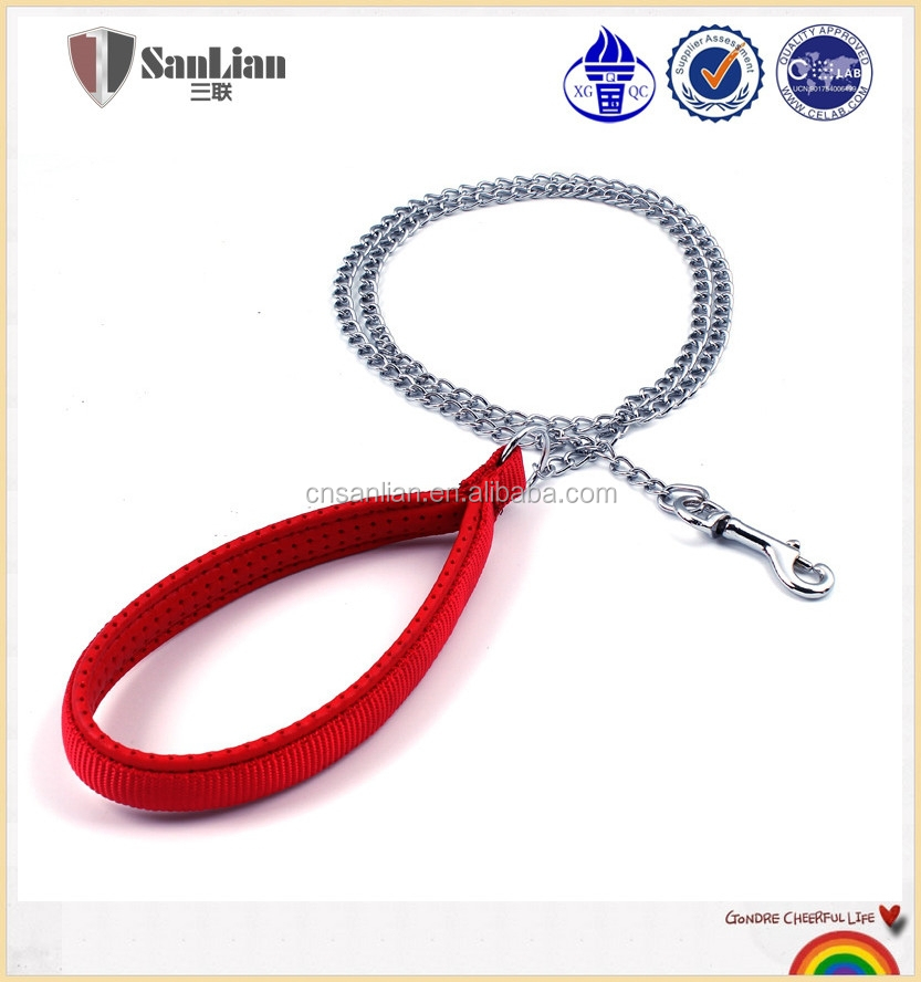 OEM/ODM available dog chain leads for SGS Certification pet products