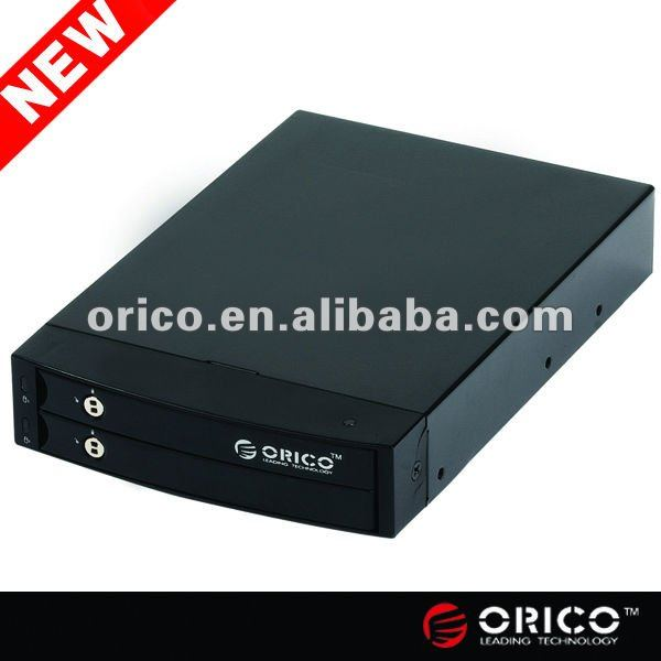 ORICO 2.5 inch 2 bay internal sata raid hdd enclosure,sata raid mobile rack