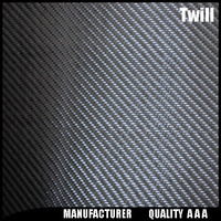 3k twill carbon fiber fabric leather