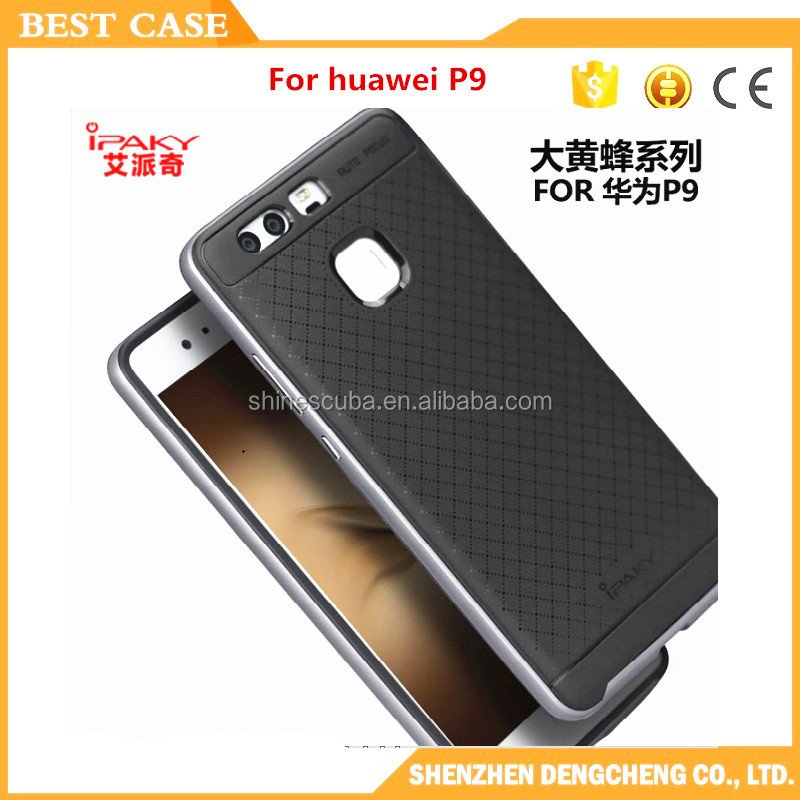 2 in 1 back cover case for huawei p9 lite ipaky case