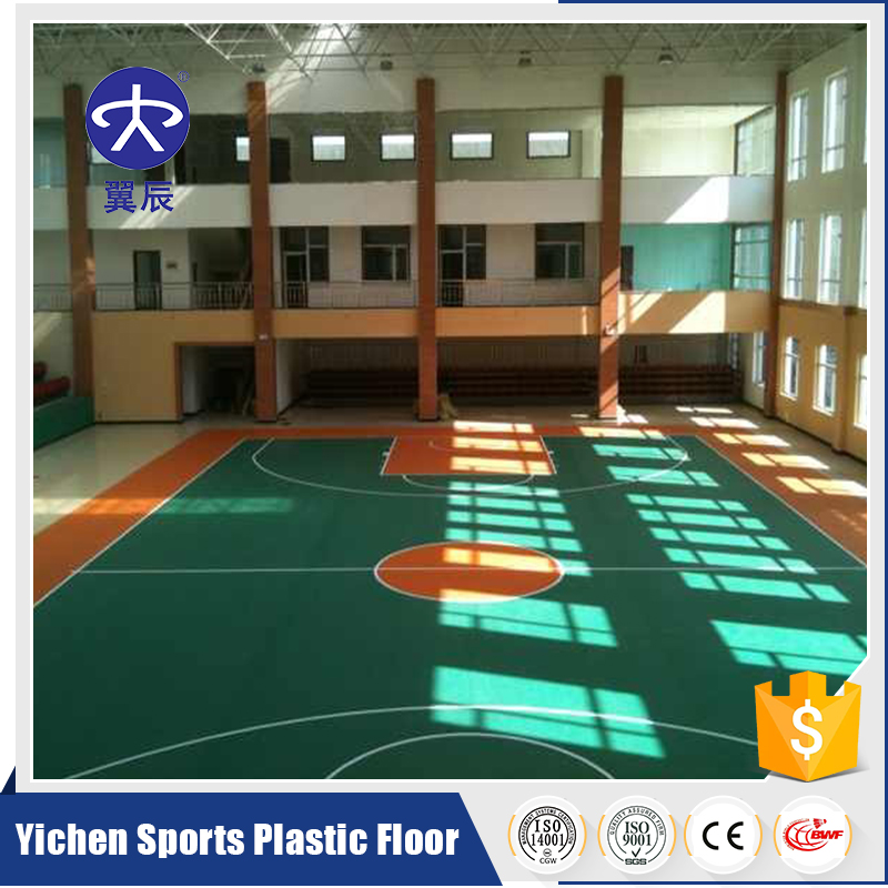 Hot Sale Portable PVC Sports Flooring For Basketball Court Used Indoor