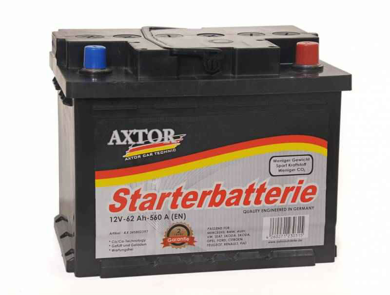 AXTOR Maintenance Free Car Batteries