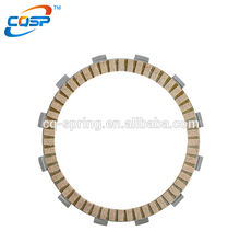 Advanced paper base motorcycle clutch friction plate with thickness 3.8mm