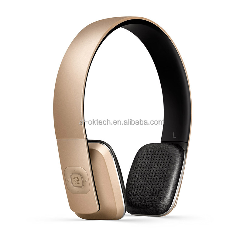 wireless bluetooth headphones bluetooth speaker microphone CSR V4.1 stereo headset with retractable headband