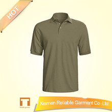 65 polyester 35 cotton t shirt custom cheap polo shirts design plain round neck t-shirt