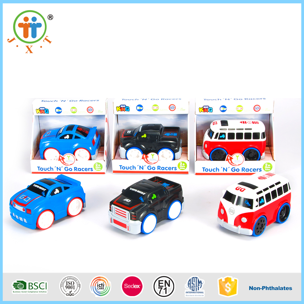 B/O Touch electric new style cartoon car toys with light and sounds