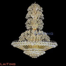 Big k9 crystal chain new design chandelier modern for restaurants 6031