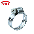 Stainless steel pipe fittings type clamp for garden and heater