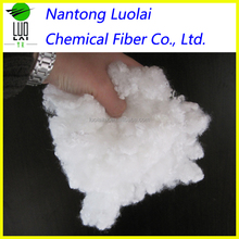psf pet bottles recycled polyester staple fiber filling pillow 7dx64mm for best service