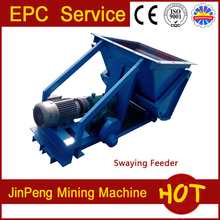 Pendulum swaying feeder, mineral processing oscillating feeder for sale