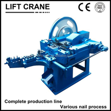 High capacity staple nail making machine with lowest price