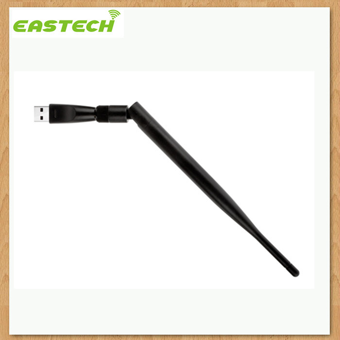 Eastech High quality 150Mbps Realtek RTL8188cus mini usb wifi adapter with external antenna, support soft AP