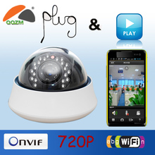 1.0 Mp CMOS HD Network wireless 1080p hd ip cctv security camera