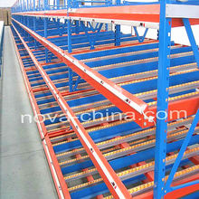 Flow Through Rack Storage Racking Warehouse Shelving Logistic Equipment Storage System