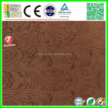 factory stock high quality pu fabric leather