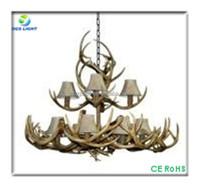 Large rustic antler chandeliers pendant light