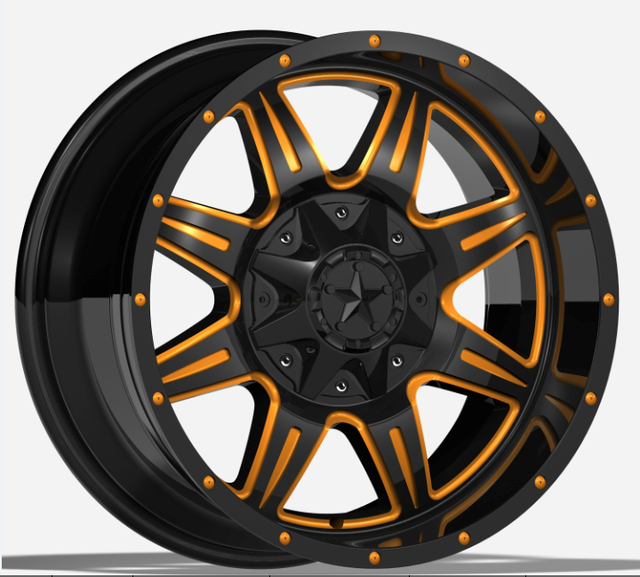 20 inch colorful face alloy wheel rims for cars with negative offset