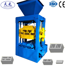 Tianyuan machinery concrete fence wall block forming machine factory OEM