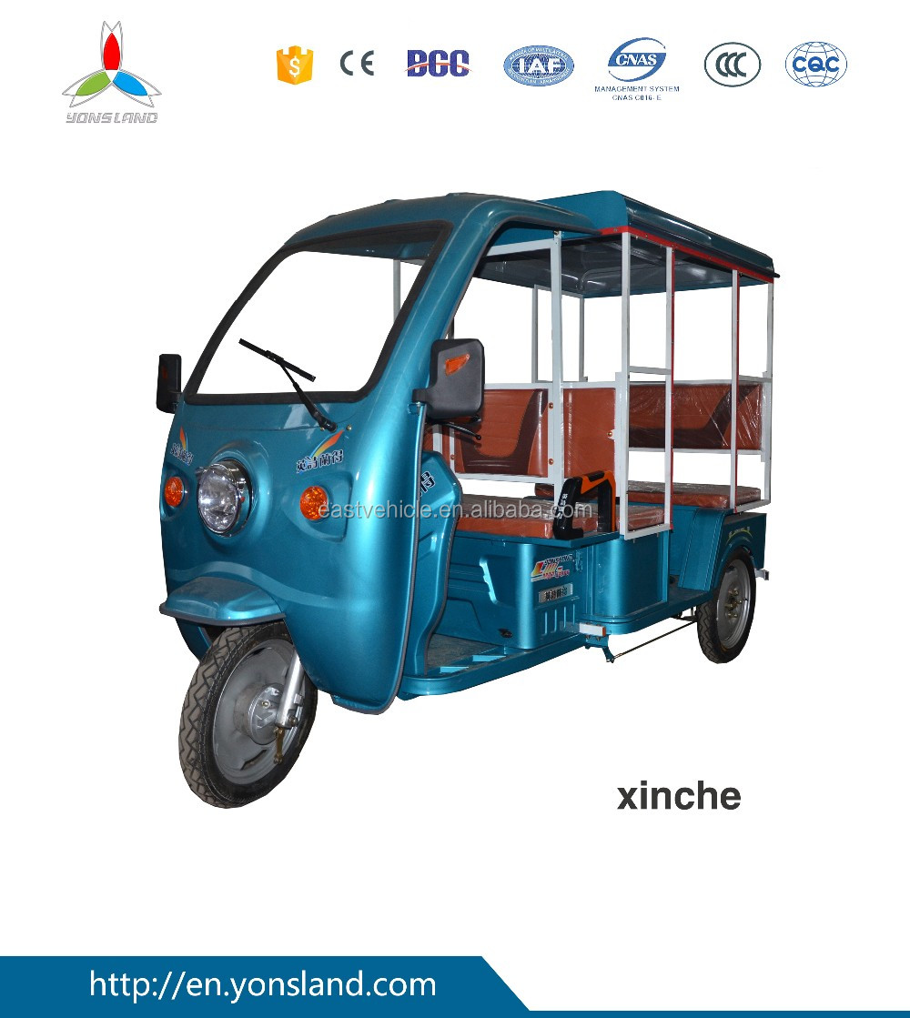 Hot Sale Electric Tricycle/Rickshaw/Tuk Tuk/Taxi for Passenger
