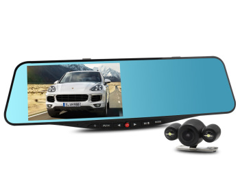 SIV M8 NT96655 Full HD Dual Lens Car Front and Rear Camera
