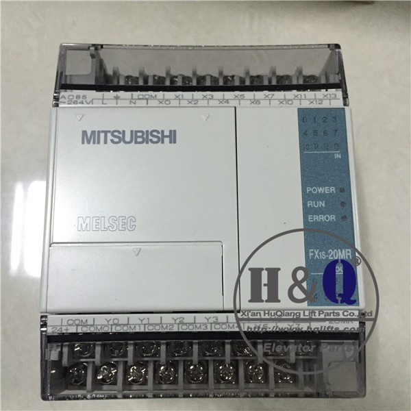 Mitsubishi PLC FX1S-20MR-001 Mitsubishi PLC Base used Escalaor