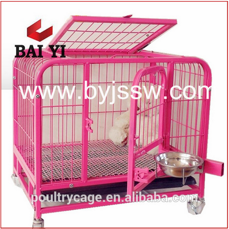 High Qulaity Heavy Duty Metal Square Tube Dog Cage For Sale Cheap