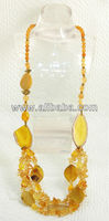 BEAD NECKLACE AB-604