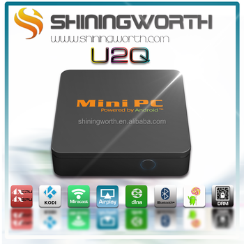mini android 4.4 ,1G/8G aluminum housing with KODI 14.2 /Playready Widevine
