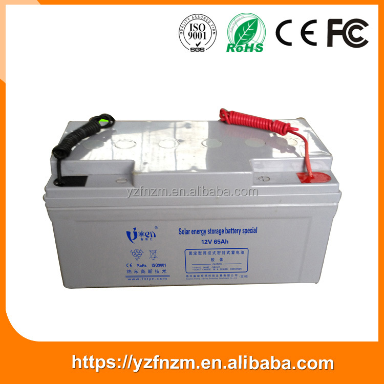 2016 Top selling products 12v 250ah lead acid deep cycle battery