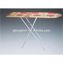 EP-52B foldable wooden ironing board with pattern cotton cover