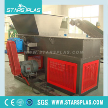 Single Shaft plastic Shredder waste cans and bottles recycling machine