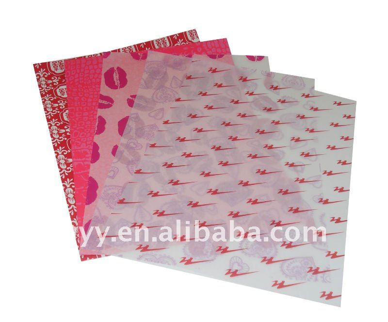 lollipop wrapping tissue paper (FSC standard)