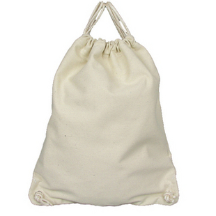 Wholesale China top quality cheap promotional cotton linen drawstring bag