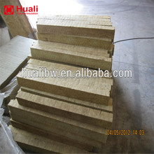 Insulation material rockwool fireproof mineral wool board strip insulation granulated rock wool