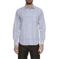 wholesale blue check shirts in bundles