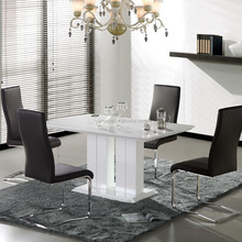 Best selling modern MDF wooden dining table